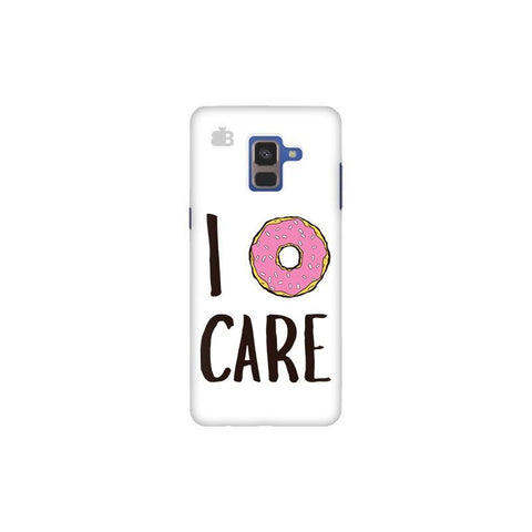 I Donut Care Samsung A8 Plus Phone Cover