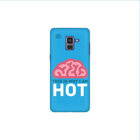 Intellectually Hot Samsung A8 Plus Phone Cover