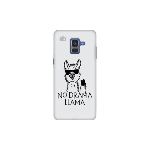 No Drama LLama Samsung A8 Plus Phone Cover