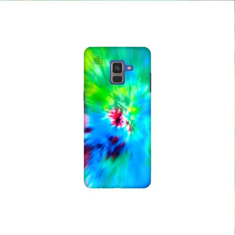 Radial Tie & Die Samsung A8 Plus Phone Cover