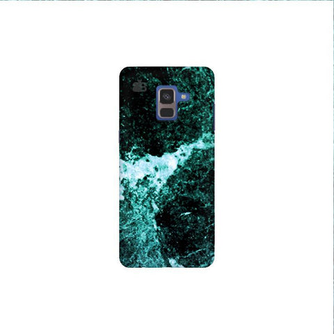 Sea Marble Samsung A8 Plus Phone Cover