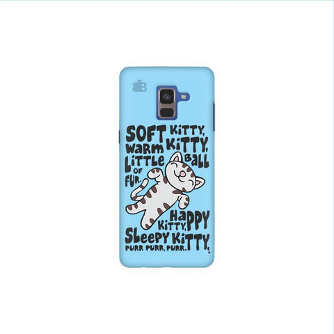 Soft Kitty Samsung A8 Plus Phone Cover