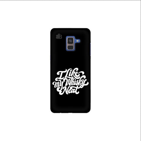 Whiskey Neat Samsung A8 Plus Phone Cover