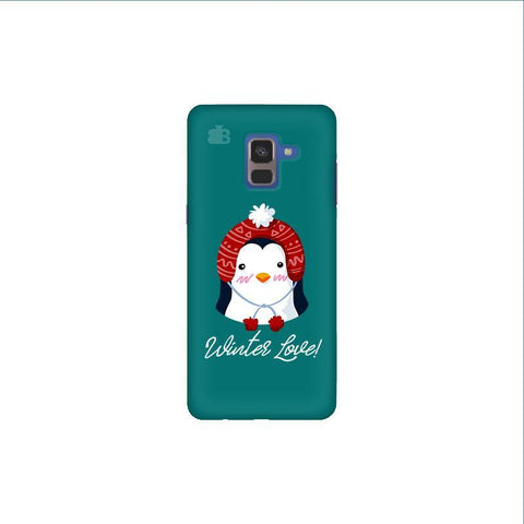 Winter Love Samsung A8 Plus Phone Cover