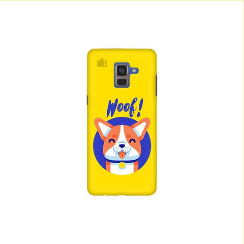 Woof Samsung A8 Plus Phone Cover