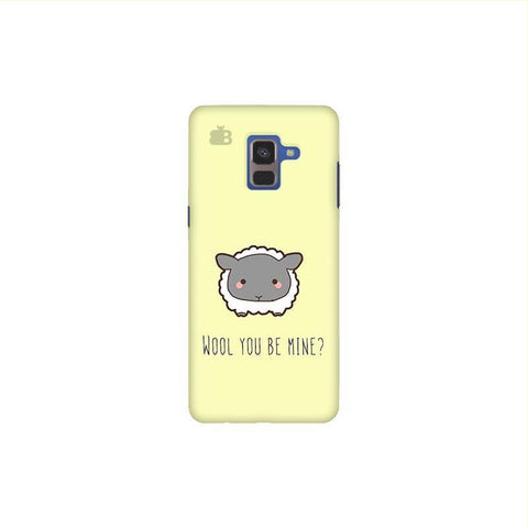 Wool Samsung A8 Plus Phone Cover