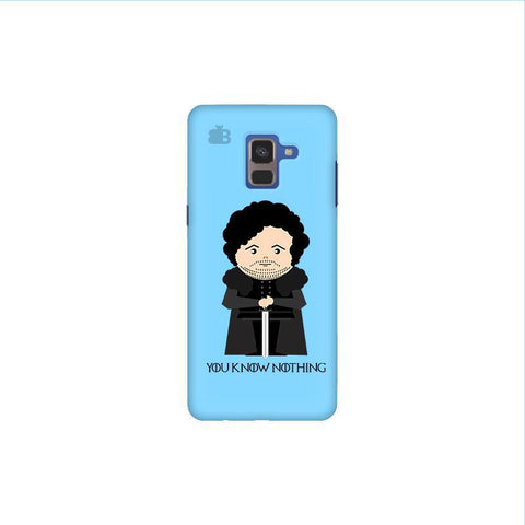 You Know Nothing Samsung A8 Plus Phone Cover