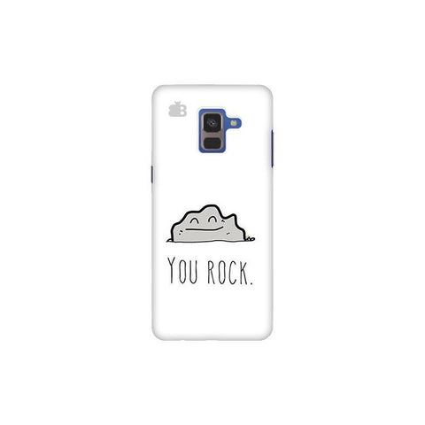 You Rock Samsung A8 Plus Phone Cover