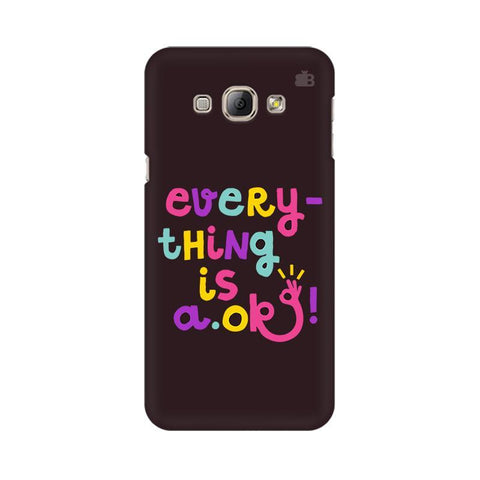 A Ok Samsung A8 Phone Cover