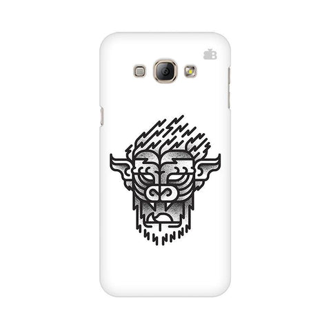 Arty Lion Samsung A8 Phone Cover