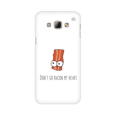 Bacon My Heart Samsung A8 Phone Cover