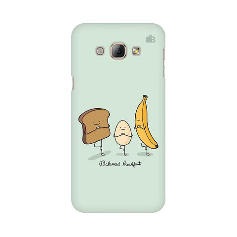 Balanced Breakfast Samsung A8 Phone Cover