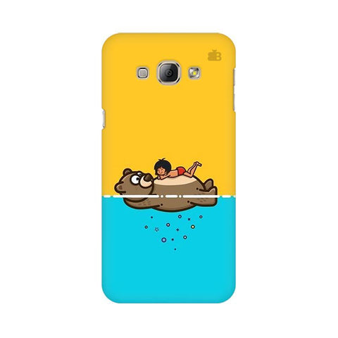 Baloo and Mowgli Samsung A8 Phone Cover