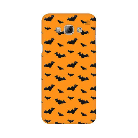 Bats Pattern Samsung A8 Phone Cover
