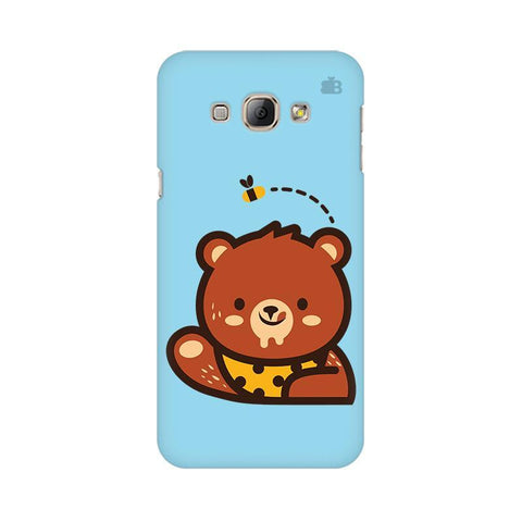 Bear Loves Honey Samsung A8 Phone Cover