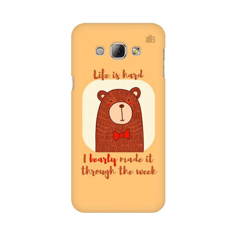 Bearly Made It Samsung A8 Phone Cover