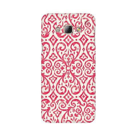 Bright Ikat Art Samsung A8 Phone Cover