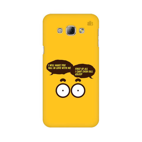 Cant Even Sleep Samsung A8 Phone Cover
