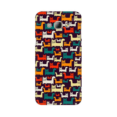 Chill Cats Samsung A8 Phone Cover
