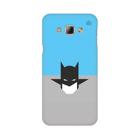 Cracked Maskman Samsung A8 Phone Cover