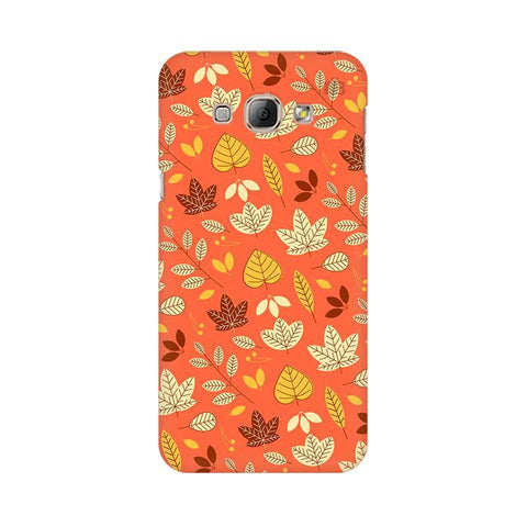 Cute Leaves Pattern Samsung A8 Phone Cover