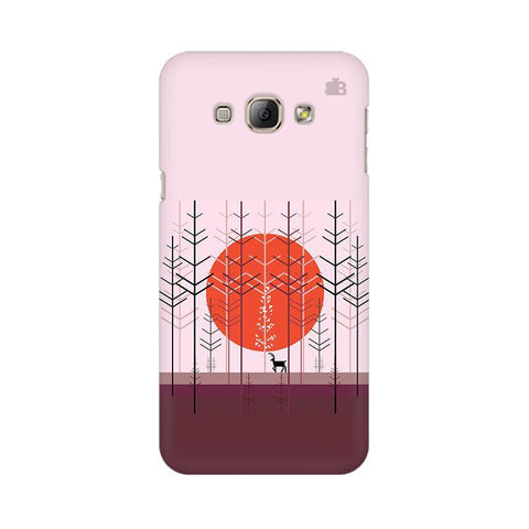 Deer in Forest Samsung A8 Phone Cover