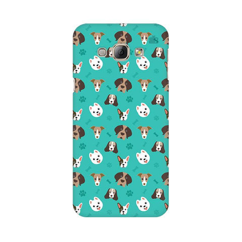 Doggie Pattern Samsung A8 Phone Cover