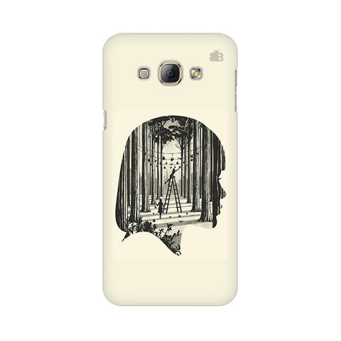 Double Exposure Samsung A8 Phone Cover