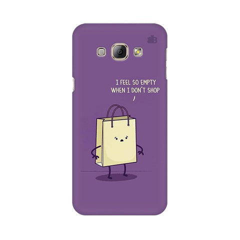 Empty not shopping Samsung A8 Phone Cover
