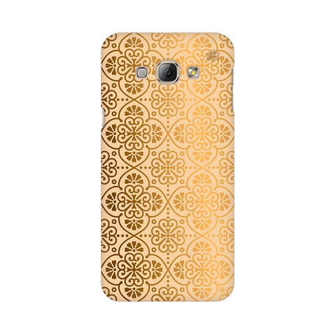 Ethnic Gold Ornament Samsung A8 Phone Cover