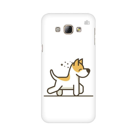 Happy Puppy Samsung A8 Phone Cover