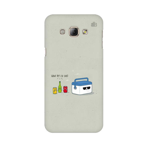 He is Cool Samsung A8 Phone Cover