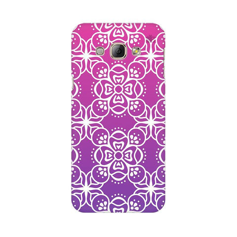 Indian Ethnic Art Samsung A8 Phone Cover