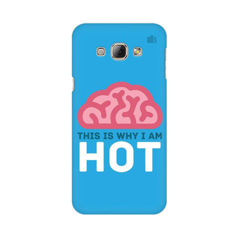 Intellectually Hot Samsung A8 Phone Cover