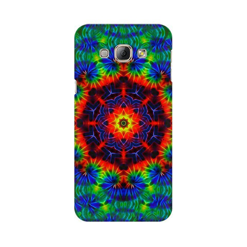 Kaleidoscope Die Samsung A8 Phone Cover