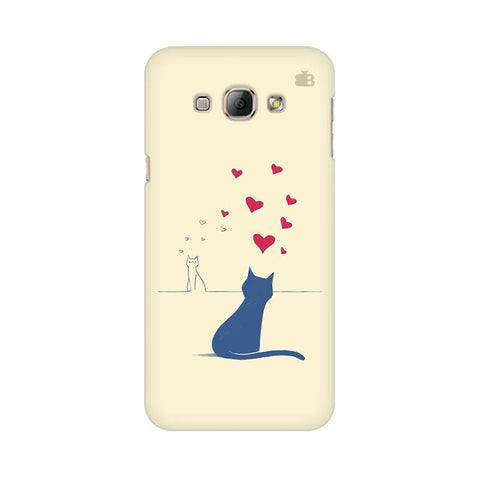 Kitty in Love Samsung A8 Phone Cover