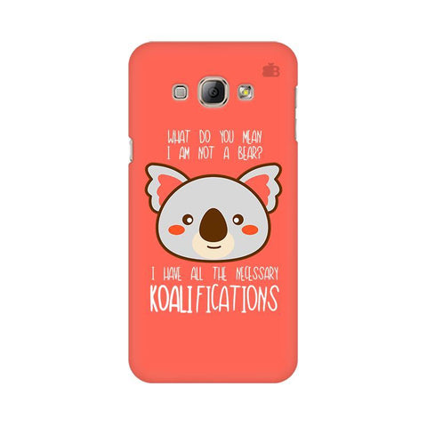Koalifications Samsung A8 Phone Cover