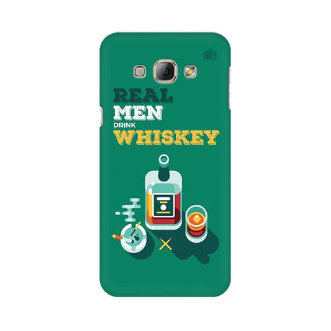Men and Whiskey Samsung A8 Phone Cover
