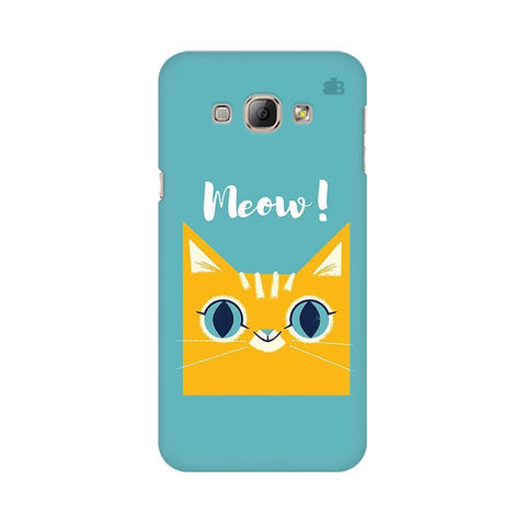 Meow Samsung A8 Phone Cover