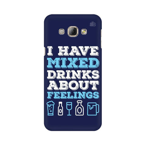 Mixed Drinks Samsung A8 Phone Cover