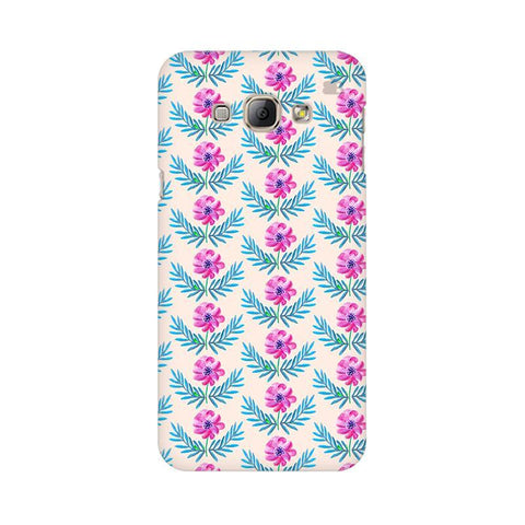 Pink Watercolor Pattern Samsung A8 Phone Cover