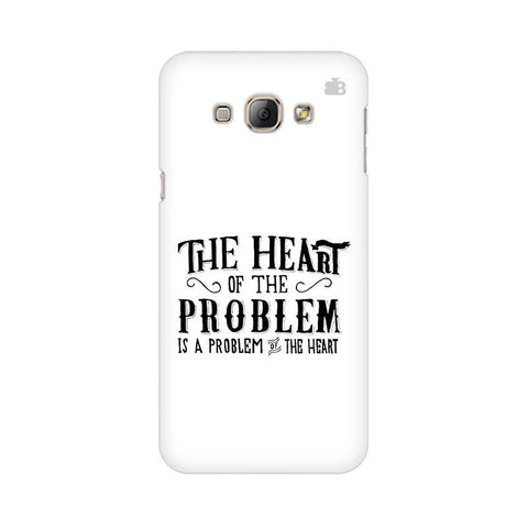 Problem of the Heart Samsung A8 Phone Cover