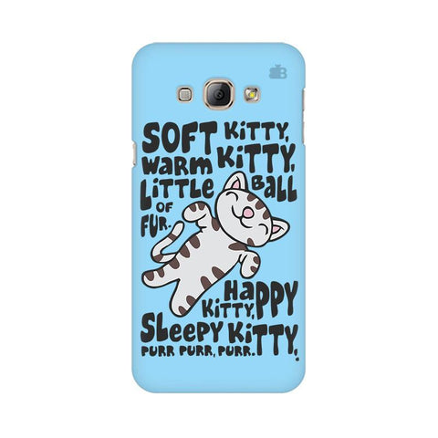 Soft Kitty Samsung A8 Phone Cover