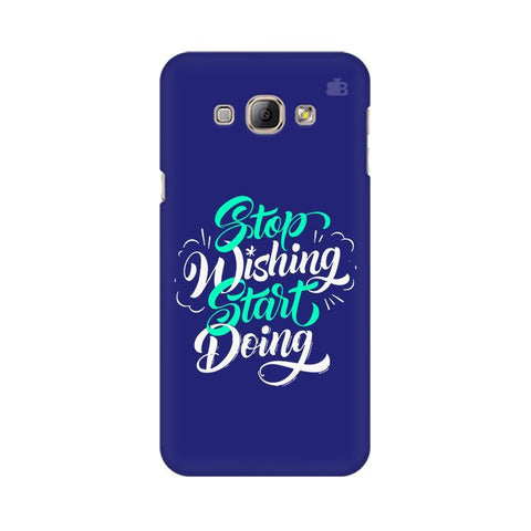 Start Doing Samsung A8 Phone Cover