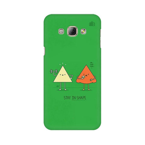 Stay in Shape Samsung A8 Phone Cover