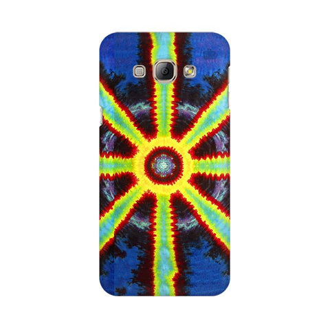 Tie & Die Pattern Samsung A8 Phone Cover