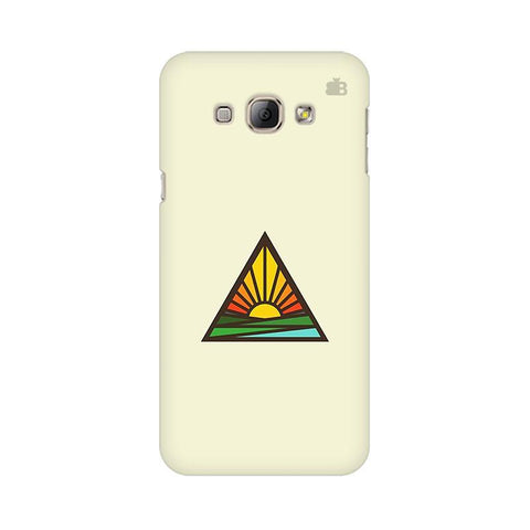 Triangular Sun Samsung A8 Phone Cover