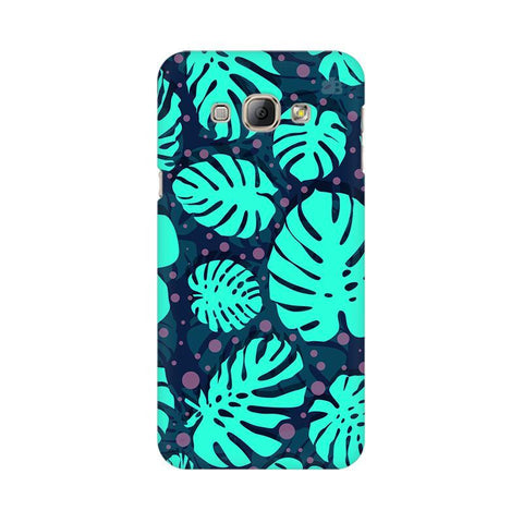 Tropical Leaves Pattern Samsung A8 Phone Cover