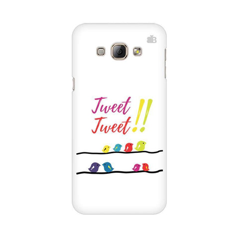 Tweet Tweet Samsung A8 Phone Cover
