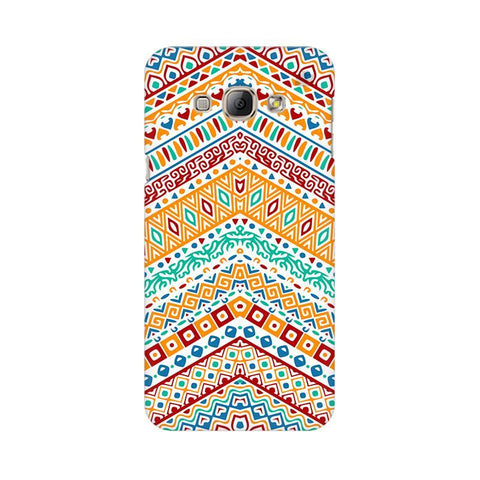 Wavy Ethnic Art Samsung A8 Phone Cover